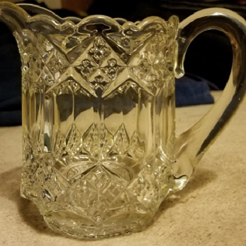 Great find this past weekend - Imperial pattern #1 creamer - Glassware