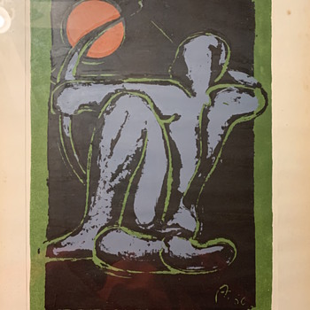 Can't figure out the artist. From the 60s I believe  - Fine Art