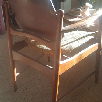 Teak Mid-Century 50's Dining Chair