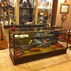 Antique store display counter