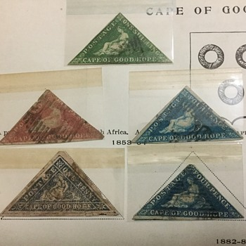 Cape of good hope stamp find. - Stamps