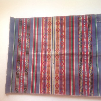 Antique Native American Blanket