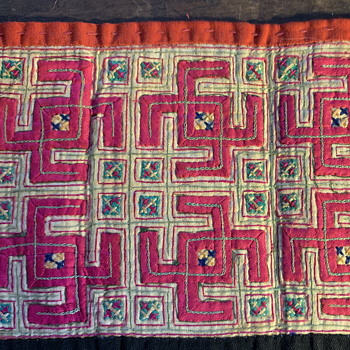 Hilltribe Textile - incredibly precise and intricate! - Rugs and Textiles
