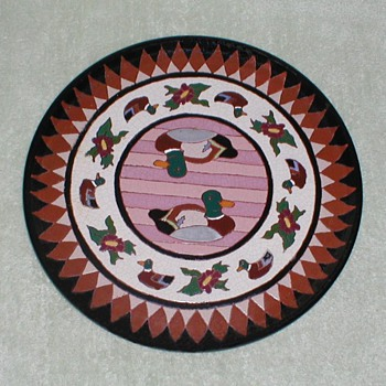 Terracotta Duck Platter  - Pottery