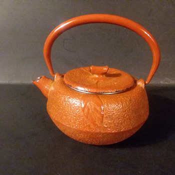 Mystery Japanese persimmon theme kyusu - Asian