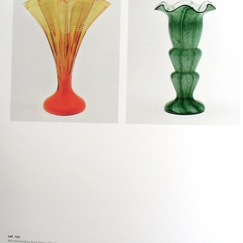 An Attribution to Steinwald that is questionable, most believe it is by Kralik, not Rindskopf either, style to late for them. - Art Glass