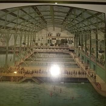 Sutro-Bathes Framed Poster - Advertising