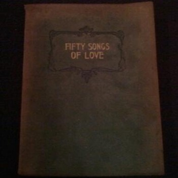 fifty songs of love  A collection of favorite love poems  j. f. mason - Books