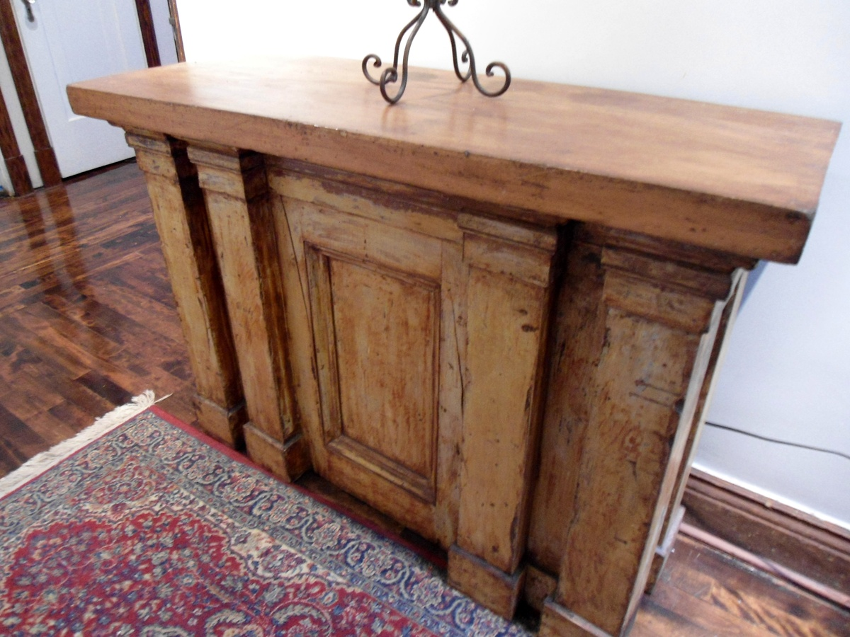 antique communion table | collectors weekly
