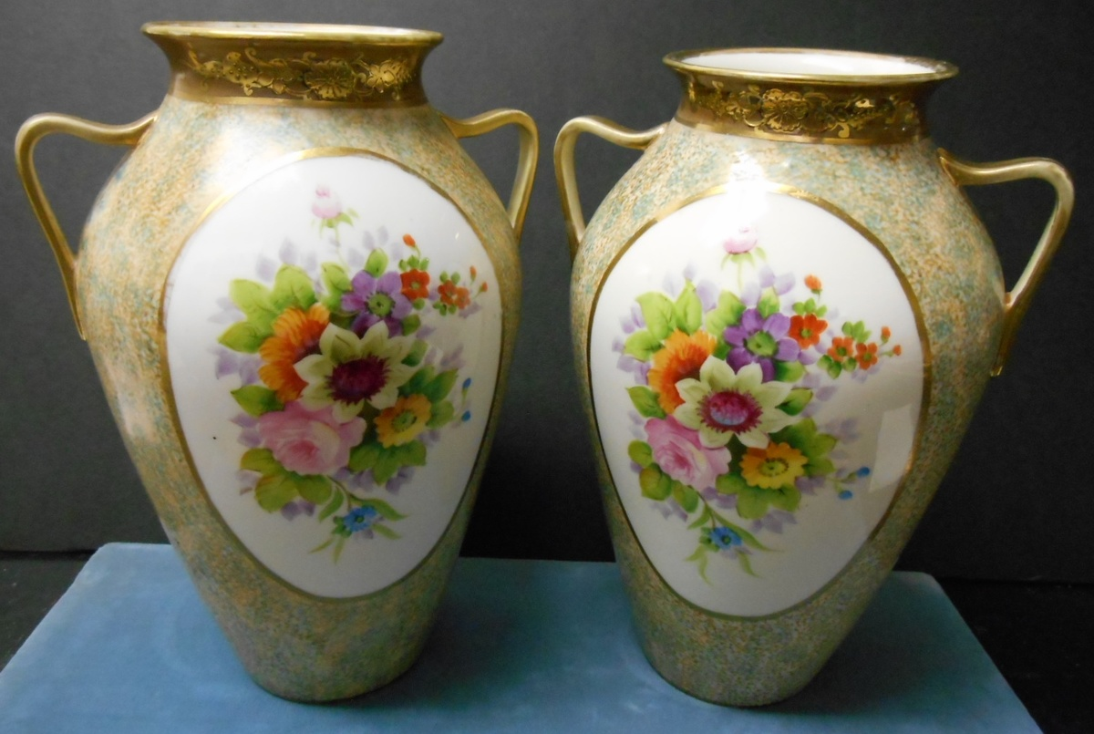 Matched hand painted japan vases need info on mark please matched hand painted japan vases need info on mark please collectors weekly reviewsmspy