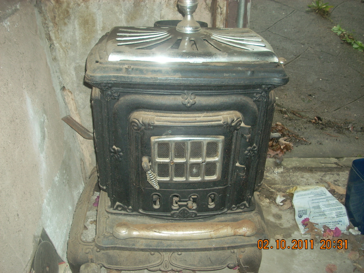 Old Wood Burning Stove Collectors Weekly