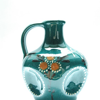 "art nouveau miniature liquor jug ""kirch"", by LEON ELCHINGER circa 1910 - Art Nouveau"