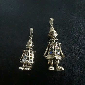 A couple  of clowns - Costume Jewelry