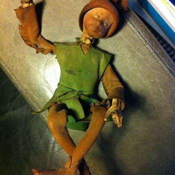 Pixie doll found under floorboards - Dolls
