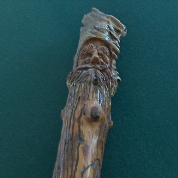 Walking stick - Folk Art