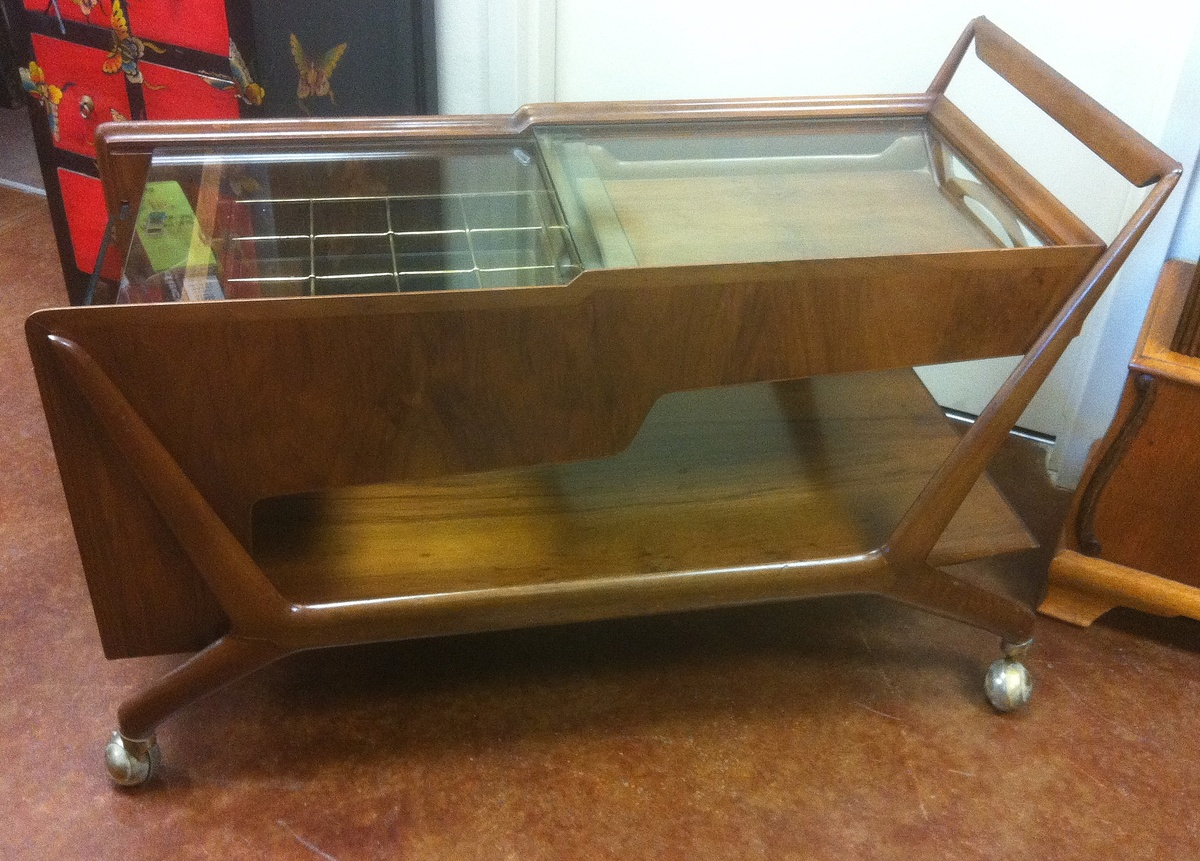 italian mid century bar cart mystery item  collectors weekly.