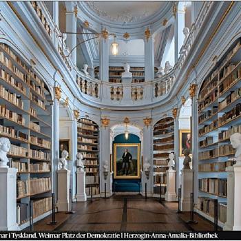 Anna Amalia Bibliothek, Weimar, Germany - Books