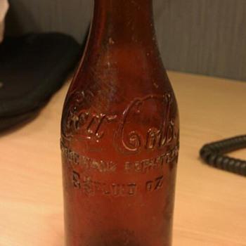Found a Chattanooga Amber Coca Cola Bottle! - Coca-Cola