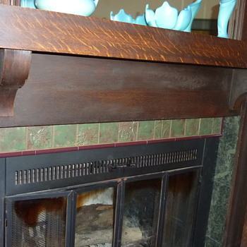 entire fireplace - Pottery
