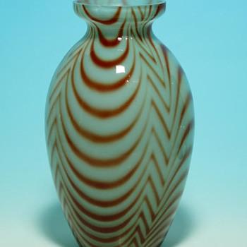 Czech Glass - Powder decor - Art Glass