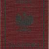 1938 Polish service passport