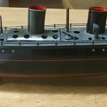 Marklin steam battleship toy - Toys