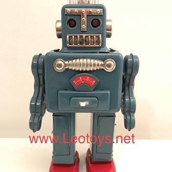 Yonezawa blu smoking robot - Toys