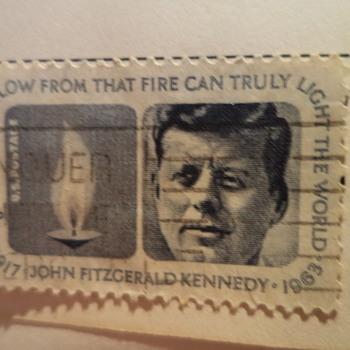 John F. Kennedy Stamp