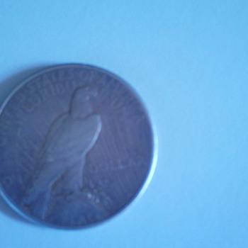 My 1922 Silver Dollar