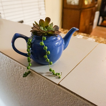 Tea Pot Planter