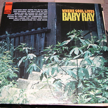 "BABY RAY WERE SOUL LIVES IMPERIAL RECORD LABEL ""SOUL"""