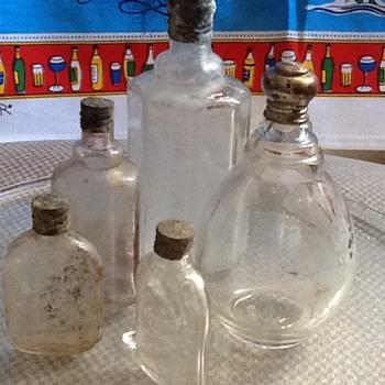 4711 Lightbulb Vintage Cologne Bottle