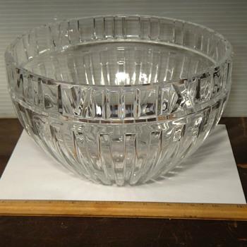"Tiffany 10"" bowl Atlas Design  - Glassware"