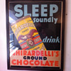 Ghirardelli store display poster