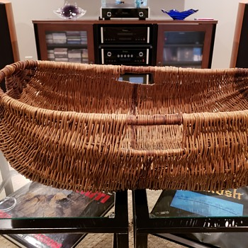 Cree Indian basket from Canada - Native American