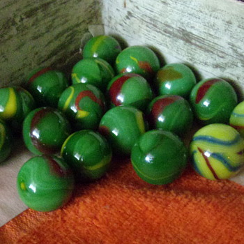 Vintage Assorted Marbles