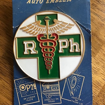 Pharmacy Emblem - Advertising