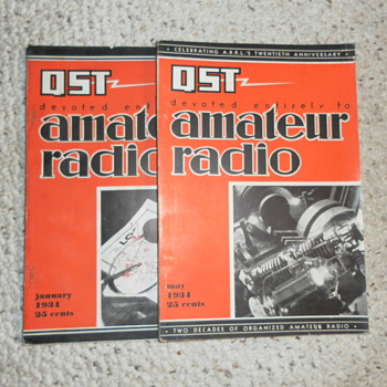 SHORTWAVE RADIO  MAGAZINE QST