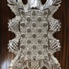 Cut glass crystal plate mystery
