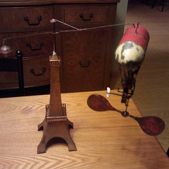 1904 Santos Dumont (Worlds Fair Toy) only one known to exist - Advertising