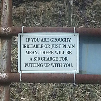 Funny Sign - Signs