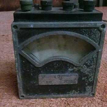 Irish railway galvanometer. - Tools and Hardware