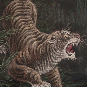 Paintings From Vietnam Brought Home By Relative Soldier - Fine Art