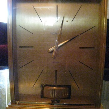 Jaeger LeCoultre ATMOS Clock. Needs Repair - Clocks