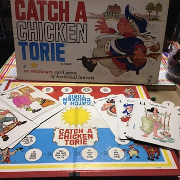 Vintage board game (how to catch a chicken torie by Hasbro
