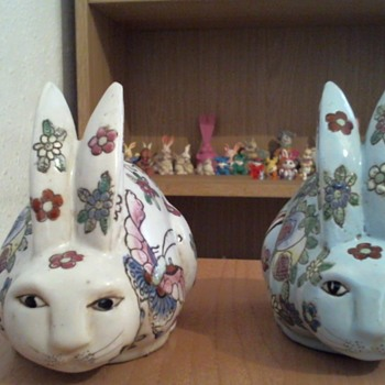 Two super cute chinese rabbits - Animals