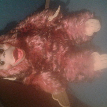 gund monkey w/rubber face - Animals