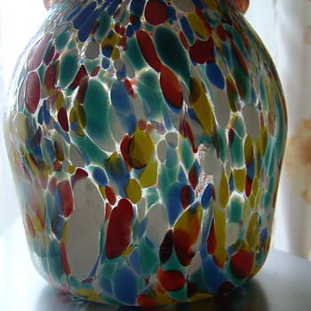 Murano (?) bottle - Art Glass