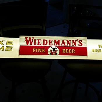"""Weidemann 48"""" Lighted Beer Sign"""