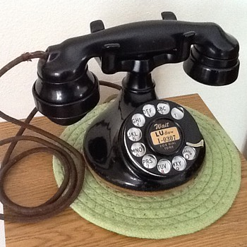 "Western Electric ""102"" & seemless E1 Receiver - Telephones"